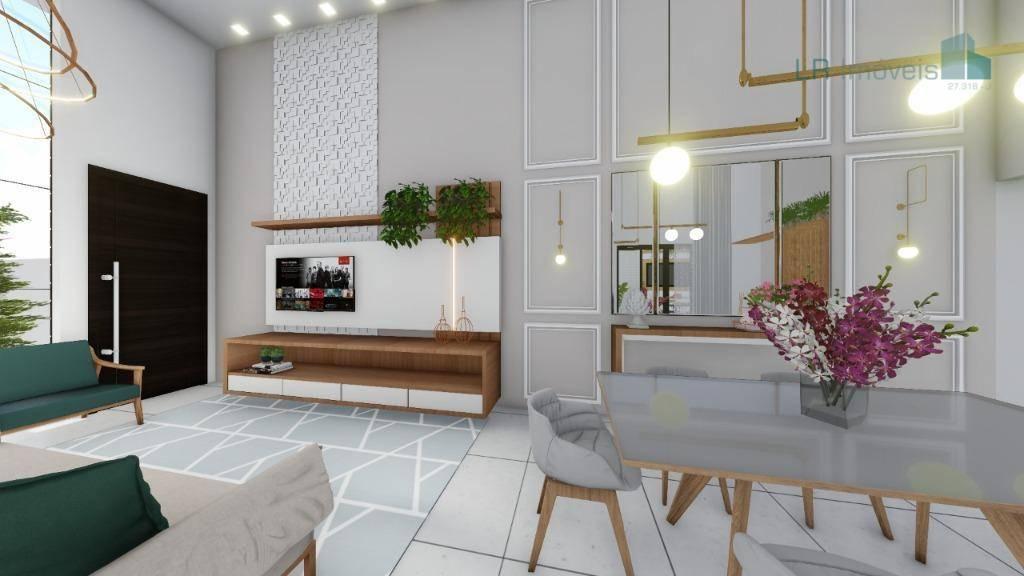 Casa à venda, 98 m² por R$ 450.000,00 - Jardim Anápolis - Toledo/PR