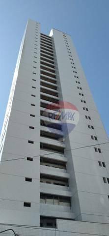 Flat com 1 dormitório à venda, 24 m² por R$ 170.000,00 - Boa Viagem - Recife/PE