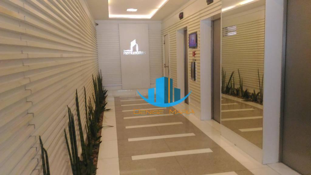 Conjunto Comercial para Aluguel em Santos  - Alto Padrão - 1