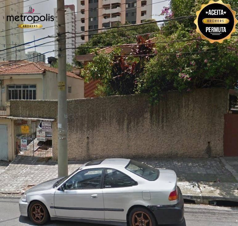 Terreno à venda, 500 m² por R$ 1.810.000,00 - Barcelona - São Caetano do Sul/SP