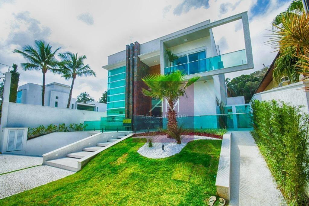 Sobrado com 6 dormitórios à venda, 609 m² por R$ 6.500.000  Riviera de São Lourenço - Bertioga/SP
