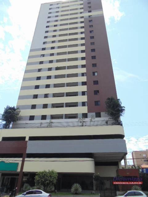 Apartamento com 4 dormitórios para alugar, 105 m² - Centro - Uberaba/MG