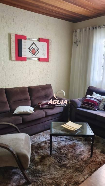 Casa com 3 dormitórios à venda, 168 m² por R$ 699.999 - Bangu - Santo André/SP
