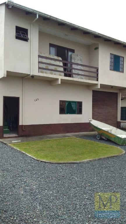 Sobrado com 2 dormitórios à venda, 140 m² por R$ 240.000,00 - Barra do Itapocú - Araquari/SC