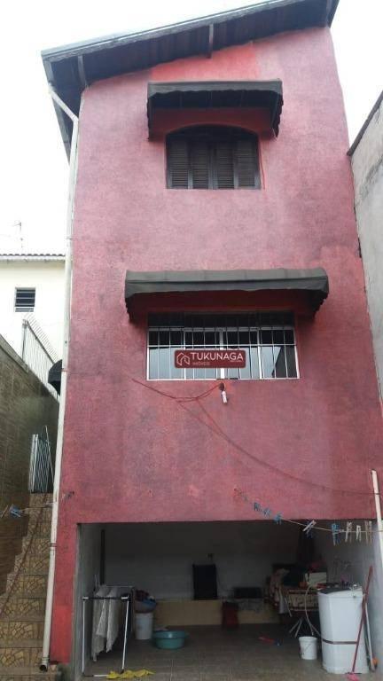 Sobrado com 4 dormitórios para alugar, 230 m² por R$ 2.000/mês - Cidade Jardim Cumbica - Guarulhos/SP
