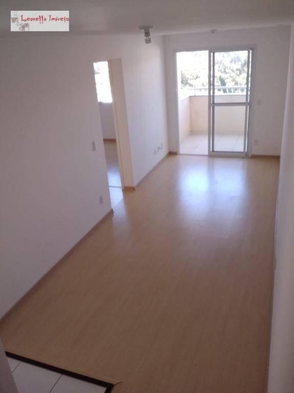 Apartamento com 2 dormitórios para alugar, 52 m² - Demarchi - São Bernardo do Campo/SP