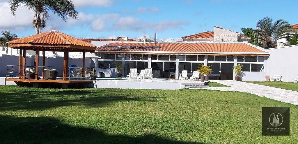 Casa com 3 dormitórios à venda, 400 m² por R$ 3.500.000,00 - Chácaras Residenciais Santa Maria - Votorantim/SP