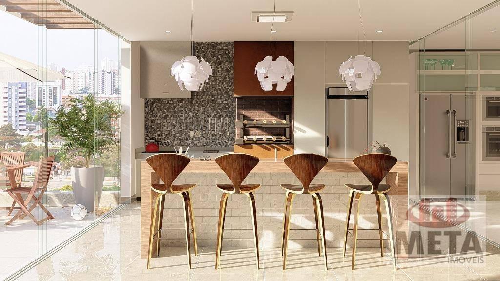 Cobertura com 3 Dormitórios à venda, 349 m² por R$ 1.696.800,00