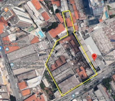 Área à venda, 3700 m² por R$ 17.000.000 - Mooca - São Paulo/SP