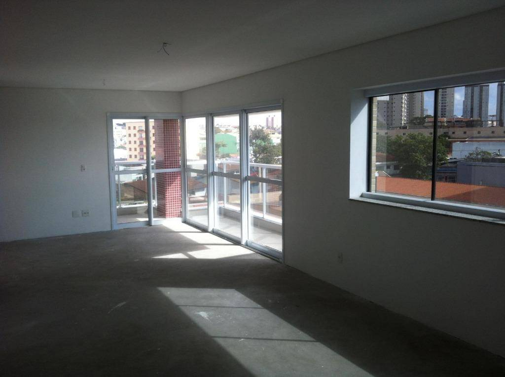 Apartamento residencial à venda, 131m², 3 suítes, 3 terraços, 3 vagas, Vila Pires, Santo André.