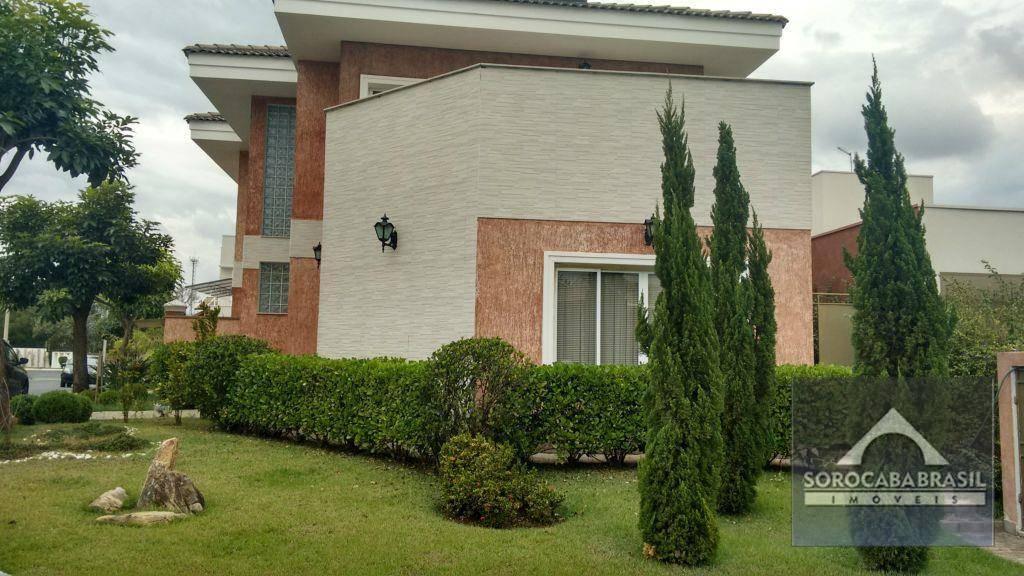 Sobrado com 3 dormitórios à venda, 320 m² por R$ 1.250.000,00 - Condomínio Reserva Parque do Varvito - Itu/SP