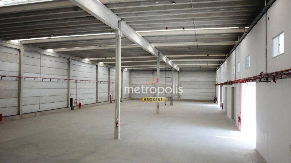 Galpão para alugar, 902 m² por R$ 20.767,39/mês - Jardim Ruyce - Diadema/SP