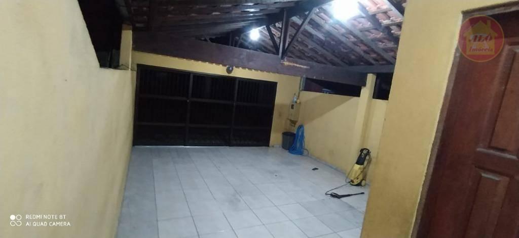 Casa com 2 dormitórios à venda, 75 m² por R$ 220.000,00 - Vera Cruz - Mongaguá/SP