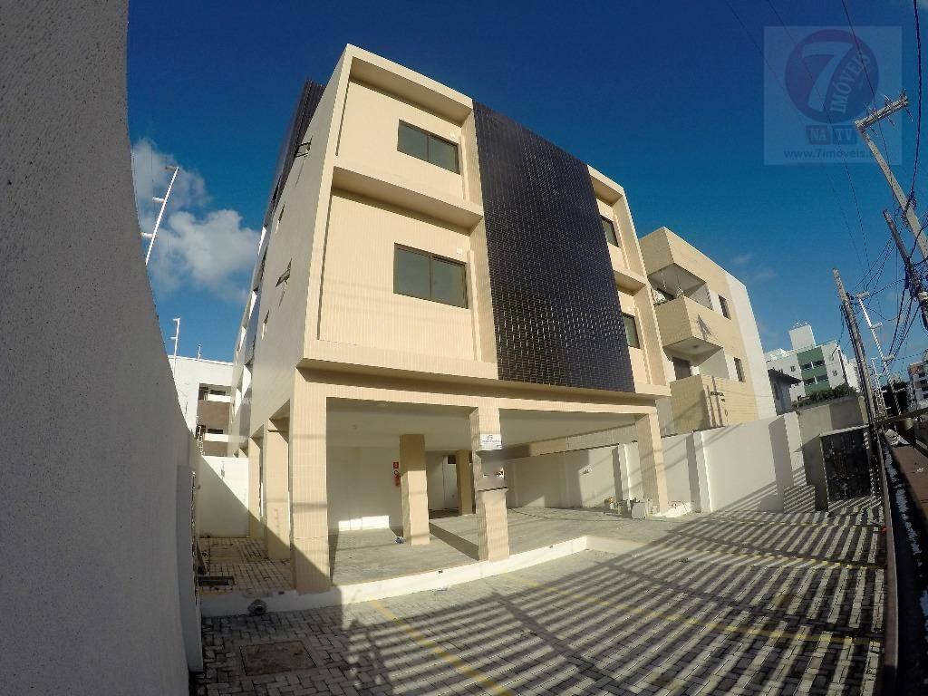 Apartamento residencial à venda, Bessa, João Pessoa - AP0197