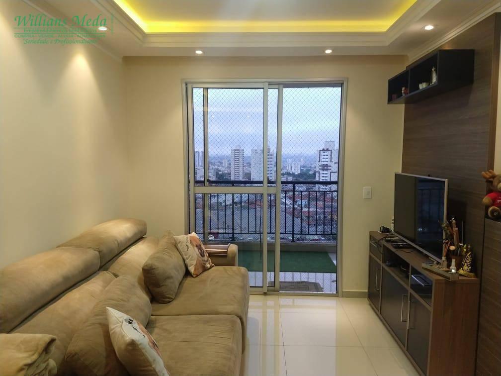 Apartamento com 2 dormitórios para alugar, 60 m² por R$ 1.500,00/mês - Picanco - Guarulhos/SP