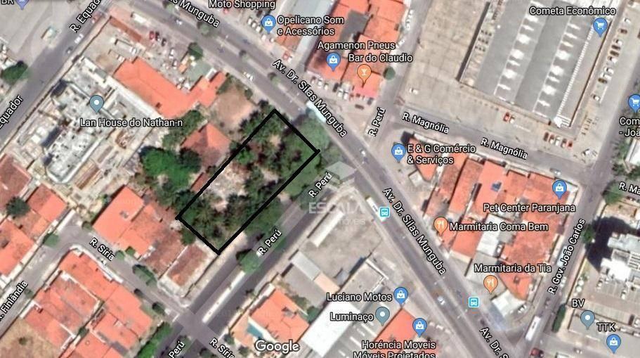 Terreno à venda, 1544 m² por R$ 3.500.000 - Itaperi - Fortaleza/CE