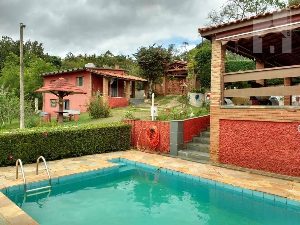 Chácara com 2 dormitórios à venda, 2644 m² - Jardim Santa Cecília - Nazaré Paulista/SP