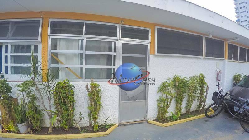 Casa com 2 dormitórios para alugar, 70 m² por R$ 1.200,00/mês - Vila Guilhermina - Praia Grande/SP