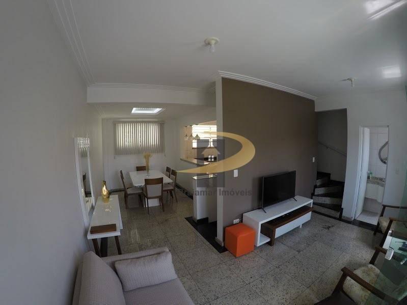 Sobrado com 3 dormitórios à venda, 145 m² por R$ 940.000,00 - Aparecida - Santos/SP