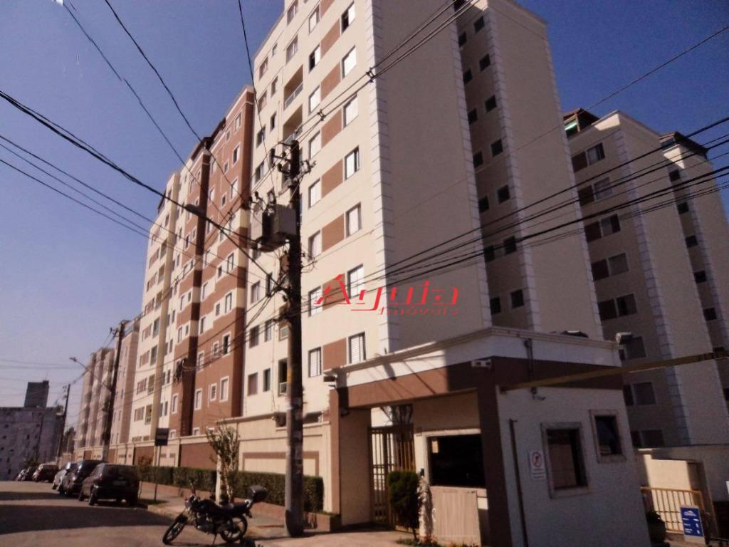 Apartamento com 2 dormitórios à venda, 52 m² por R$ 235.000,00 - Parque São Vicente - Mauá/SP