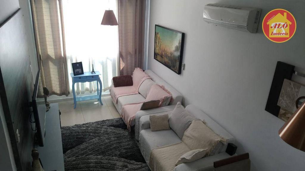 Sobrado com 3 dormitórios à venda, 161 m² por R$ 500.000,00 - Aviação - Praia Grande/SP