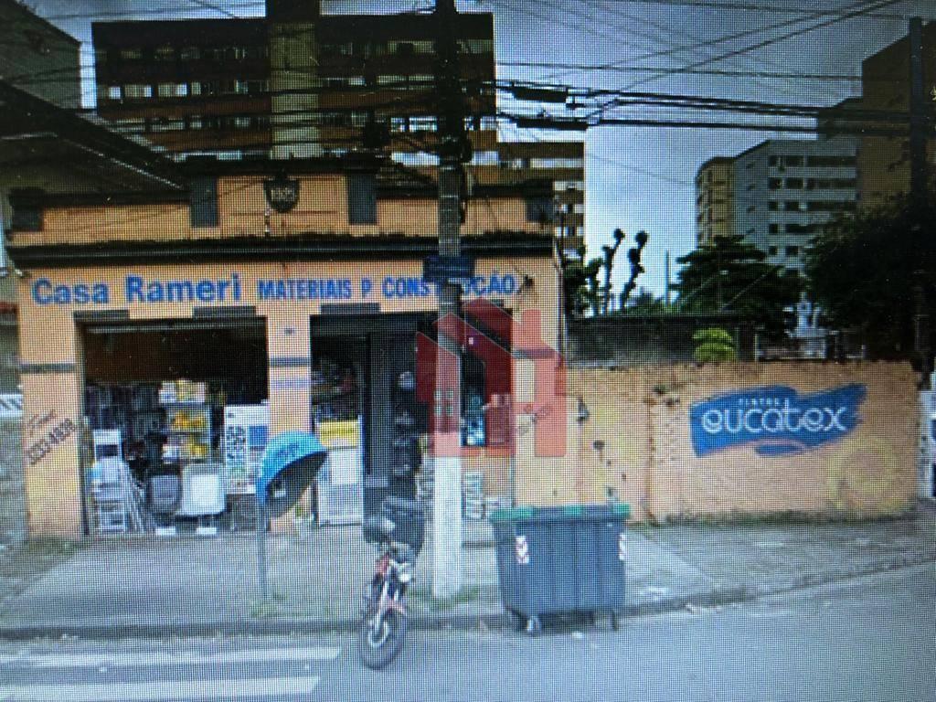 Terreno à venda, 560 m² por R$ 1.500.000,00 - Encruzilhada - Santos/SP