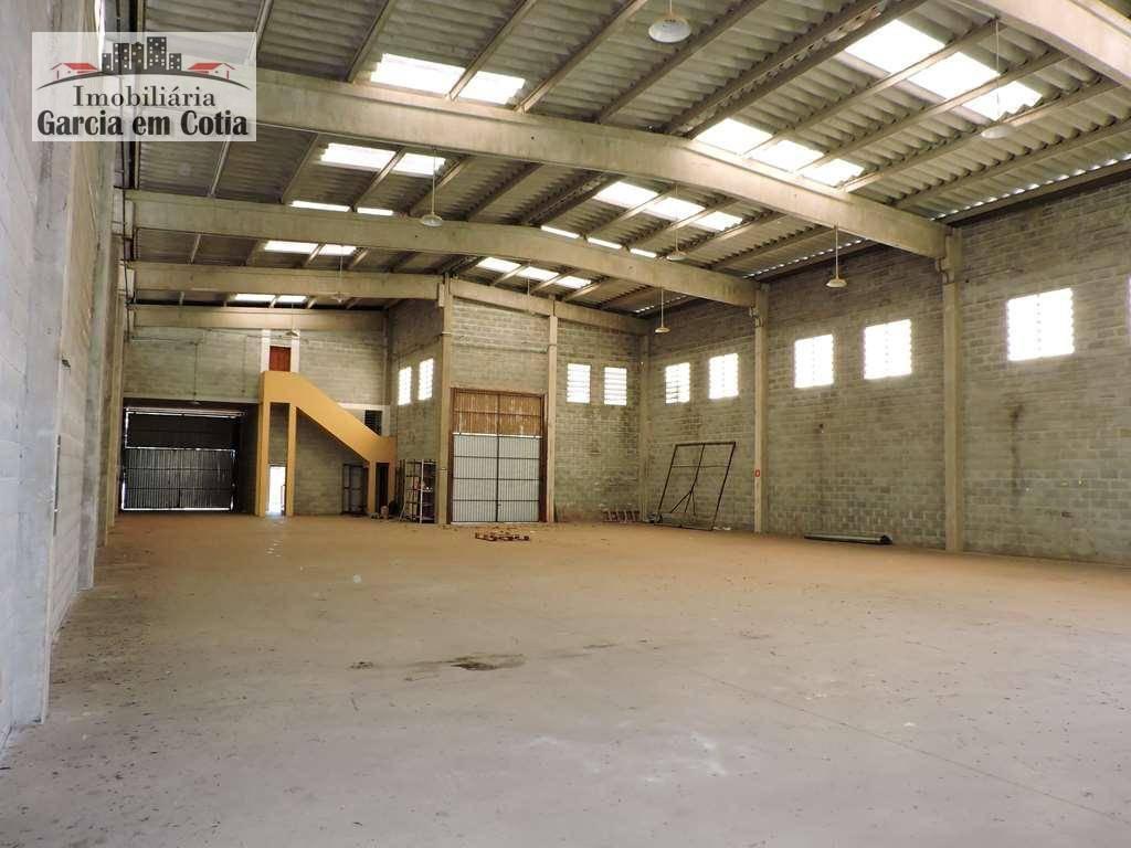 Galpão Industrial disponível para locação em Cotia - SP. Km