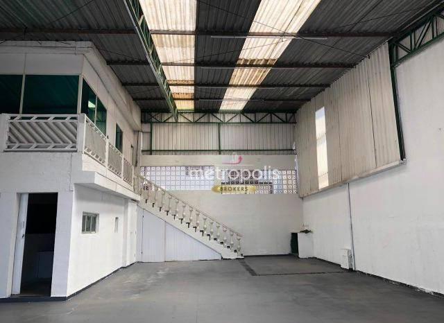 Galpão para alugar, 180 m² por R$ 10.000,00/mês - Santa Paula - São Caetano do Sul/SP