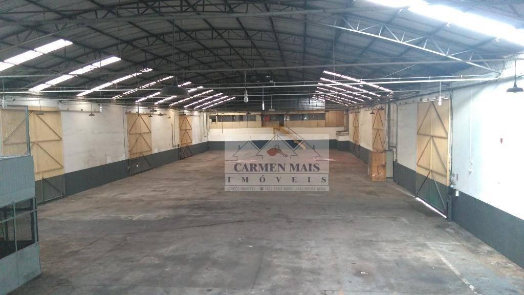 Barracão industrial para locação, Águas Belas, São José dos