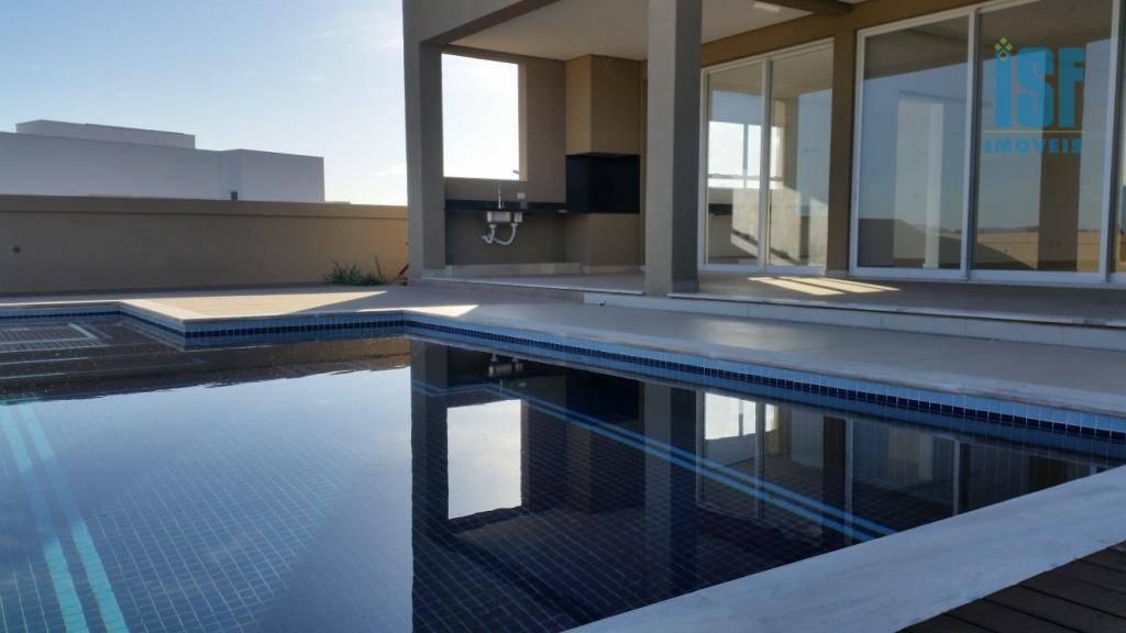 Sobrado com 4 dormitórios à venda, 504 m² por R$ 3.150.000 - Alphaville - Santana de Parnaíba/SP - SO5644.