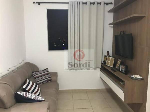 Apartamento com 2 dormitórios à venda, 50 m² por R$ 240.000 - City Ribeirão - Ribeirão Preto/SP