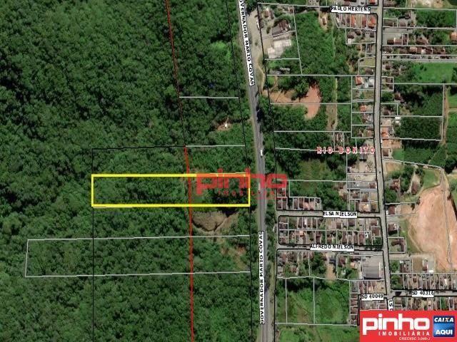 Terreno à venda, Área Total de 39.123,27m² por R$ 498.611 - Rio Bonito (Pirabeiraba) - Joinville/SC