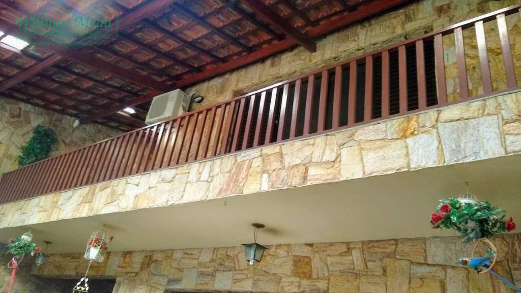 Sobrado com 3 dormitórios à venda, 261 m² por R$ 775.000 - Jardim Vila Galvão - Guarulhos/SP