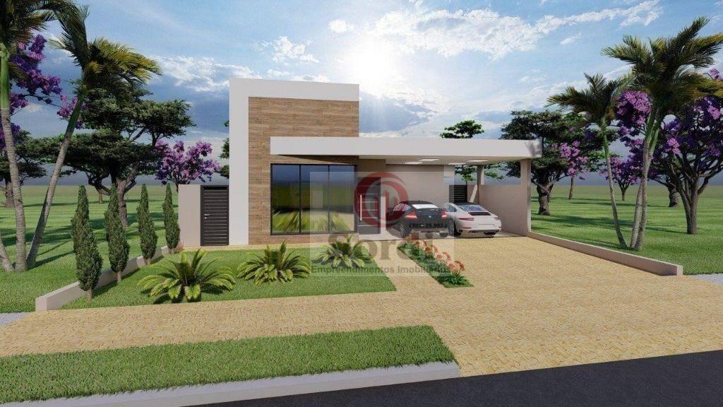 Casa com 3 dormitórios à venda, 174 m² por R$ 1.220.000,00 - Quinta dos Ventos - Ribeirão Preto/SP