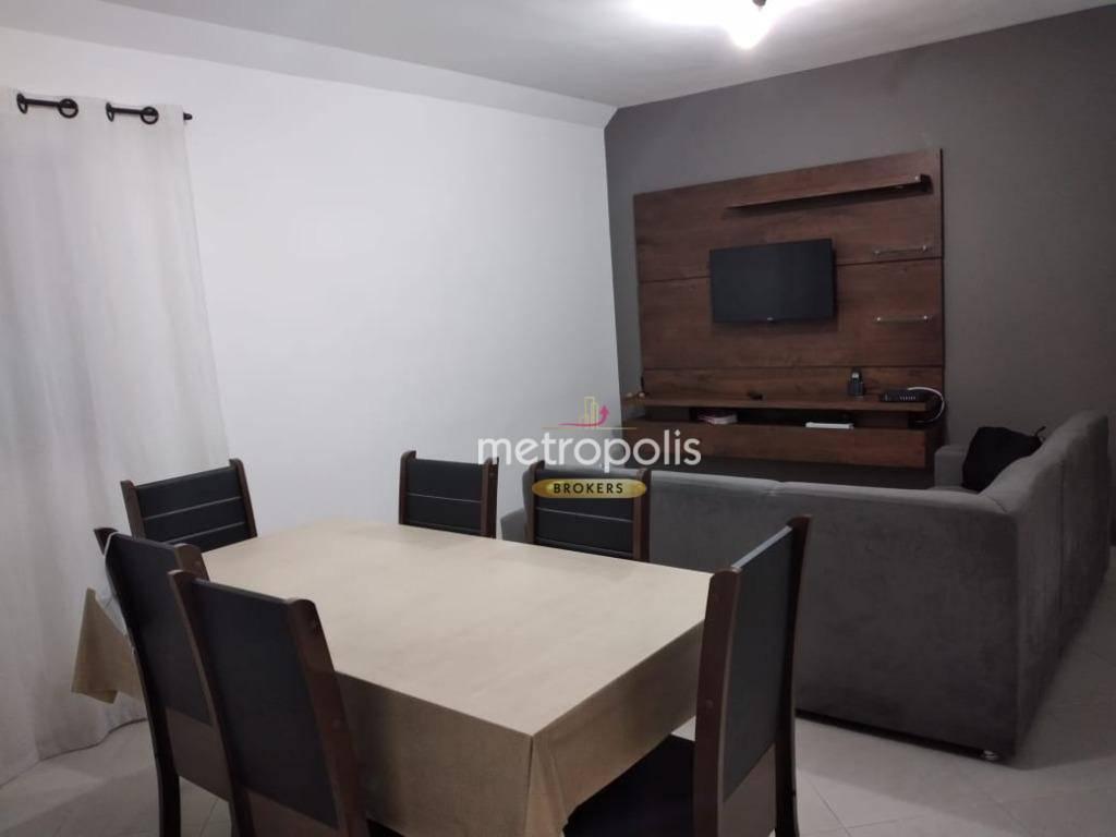 Apartamento à venda, 62 m² por R$ 300.000,00 - Vila Nossa Senhora das Vitórias - Mauá/SP