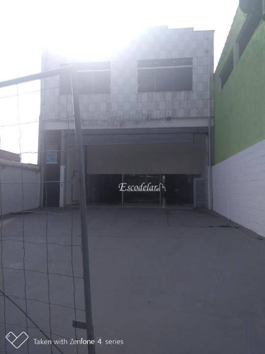 Galpão, 800 m² - venda por R$ 1.715.000,00 ou aluguel por R$ 14.000,00/mês - Cidade Soberana - Guarulhos/SP