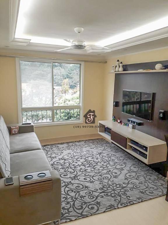 Apartamento à venda, 83 m² - Parque Villa Flores - Sumaré/SP