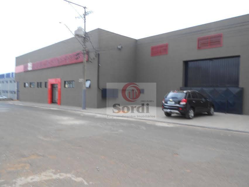 Galpão comercial à venda, Vila Carvalho, Ribeirão Preto.