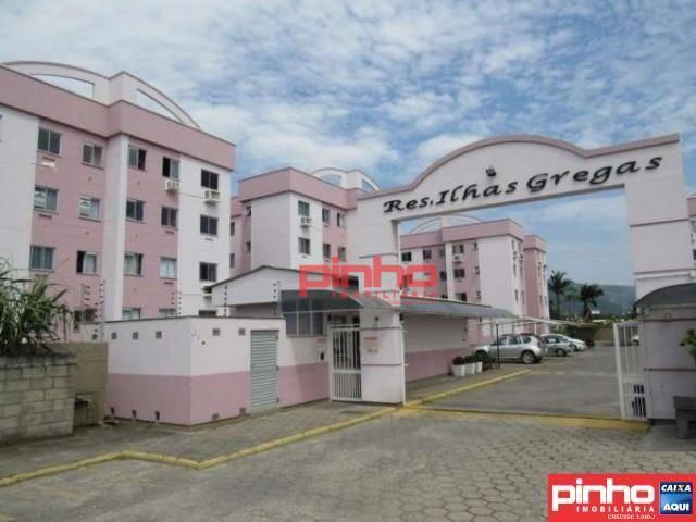 Apartamento com 3 dormitórios à venda, 54 m² por R$ 160.000,00 - Aririú - Palhoça/SC