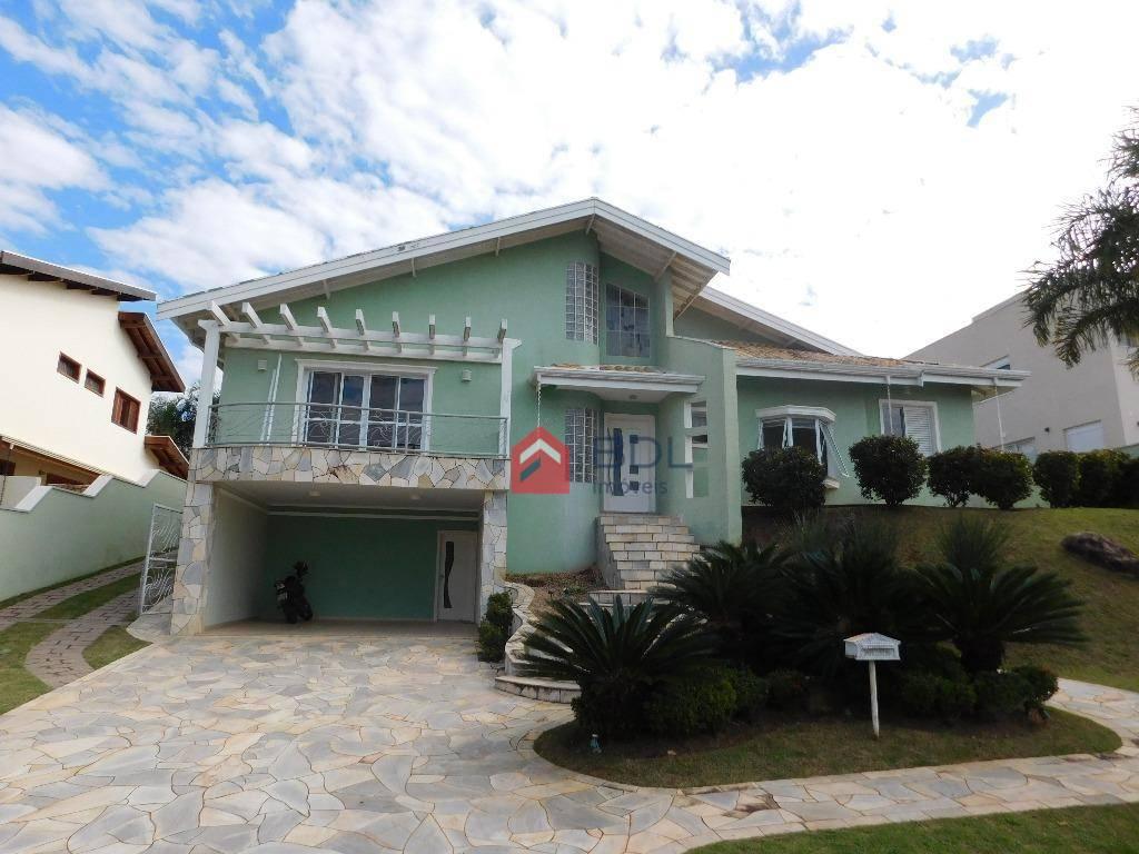 Casa residencial para locação, Alphaville , Campinas - CA035