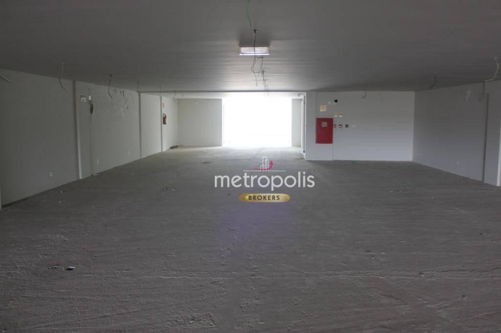 Galpão para alugar, 1316 m² por R$ 25.000,00/mês - Fundação - São Caetano do Sul/SP