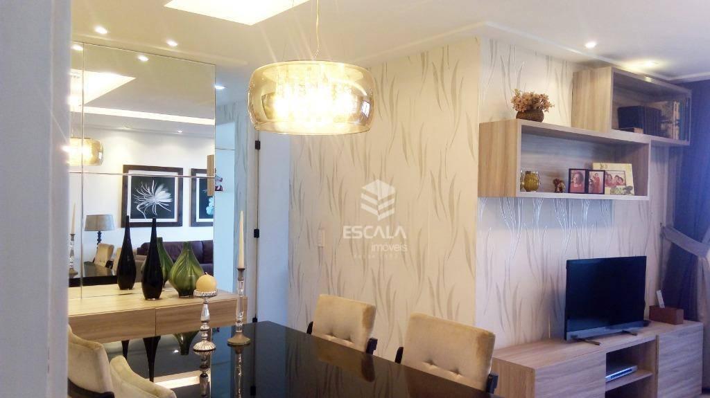Apartamento com 3 quartos à venda, 87 m², andar alto, 2 vagas, financia - Meireles - Fortaleza/CE