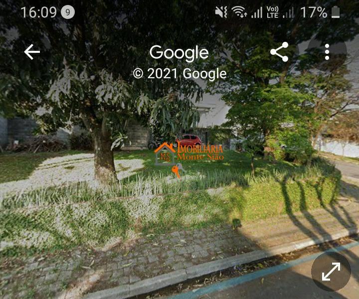 Terreno à venda, 250 m² por R$ 689.000,00 - Cidade Maia - Guarulhos/SP