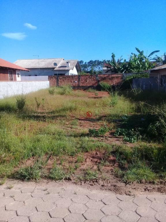Terreno à venda, 300 m² por R$ 145.000,00 - Centro - Barra Velha/SC