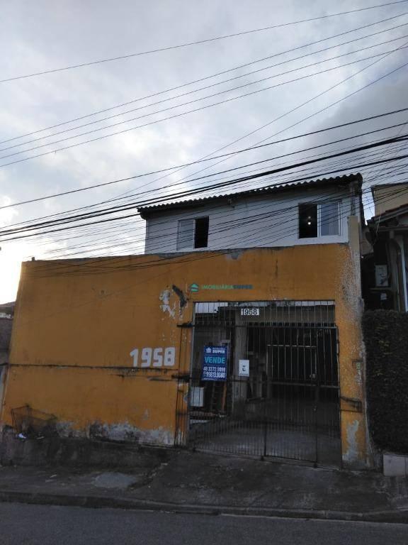 Terreno de 307,6m² à venda em Barreiros, São José
