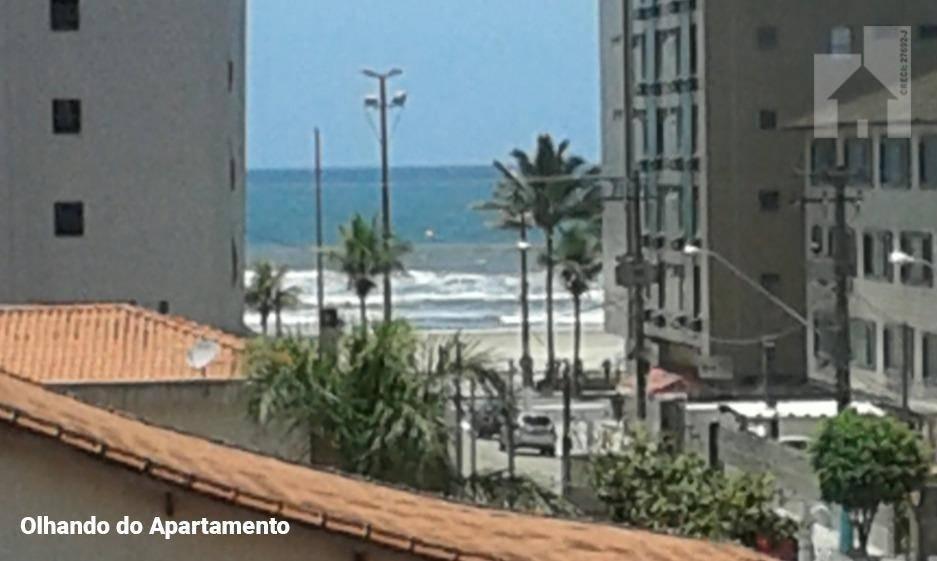 Apartamento com 2 dormitórios à venda, 67 m² - Vila Guilhermina - Praia Grande/SP