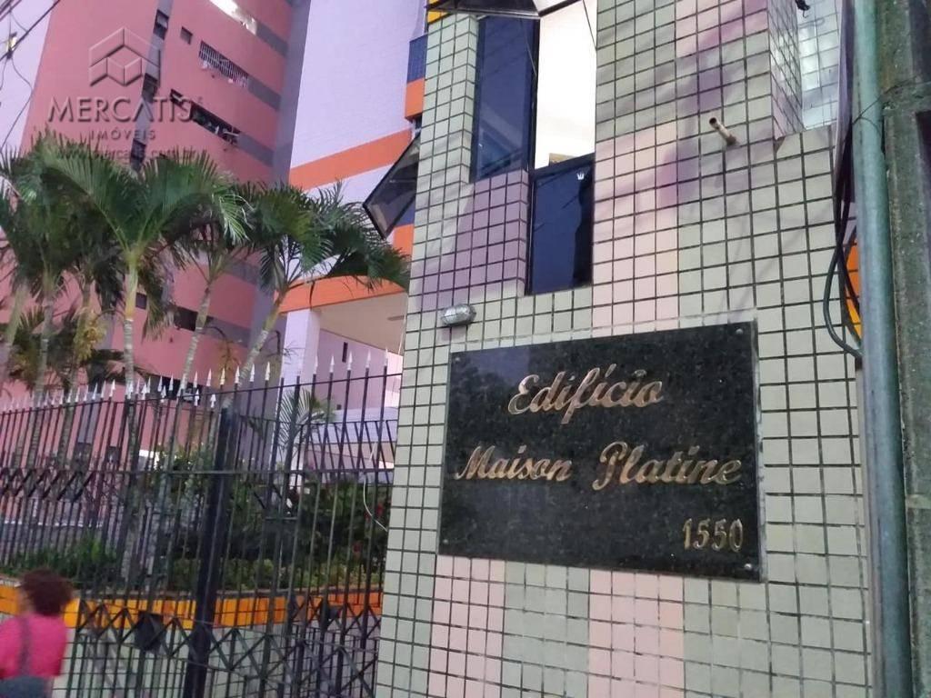 Apartamento à venda | Edifício Maison Platine | Bairro Cocó | Fortaleza (CE) -