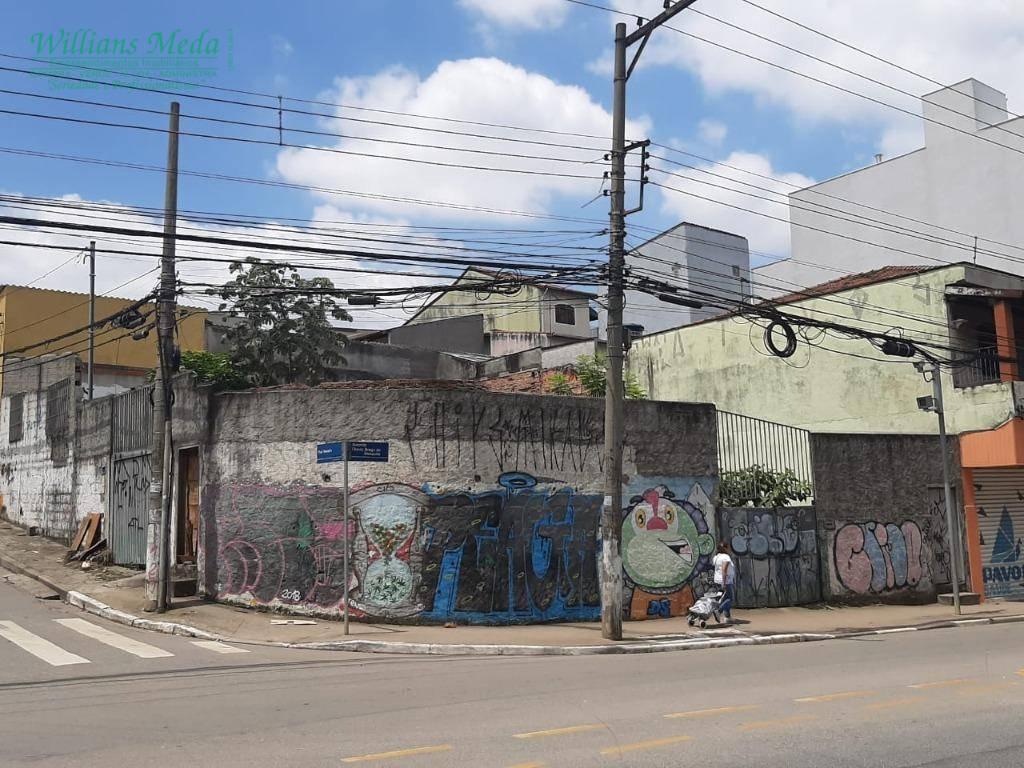 Terreno à venda, 338 m² por R$ 680.000 - Jardim São Geraldo - Guarulhos/SP