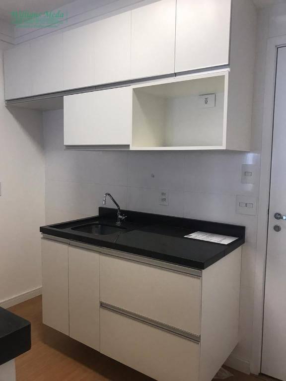 Studio com 1 dormitório à venda, 38 m² por R$ 285.000 - Jardim Flor da Montanha - Guarulhos/SP