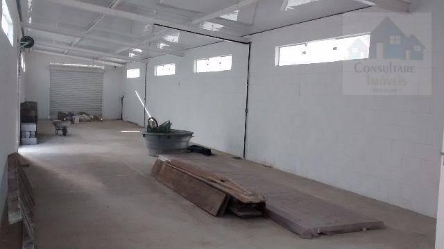 Galpão para alugar, 470 m² por R$ 20.000/mês - Encruzilhada - Santos/SP